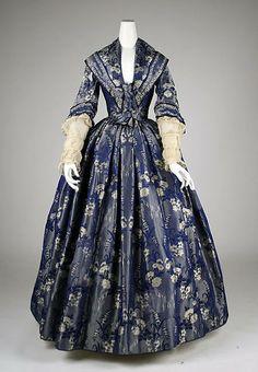 1842 dress via The Metropolitan Museum of Art.