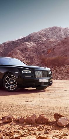 Rolls-Royce Wraith, off-road, luxury vehicle, black badge, 1080x2160 wallpaper