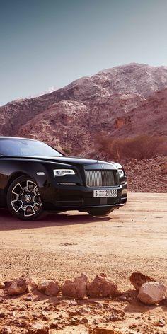 Rolls-Royce Wraith, off-road, luxury vehicle, black badge, 1080x2160 wallpaper