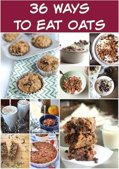 36 Ways To Eat Oats