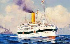 hospital ship First World, World War, Ships, Boat, Boats, Dinghy, Ship