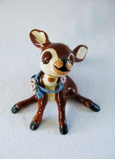 *SOLD*  Vintage Deer Figurine Sitting Deer Vintage by HipCatRetroVintage, https://www.etsy.com/listing/187879801/vintage-deer-figurine-sitting-deer?ref=shop_home_active_5