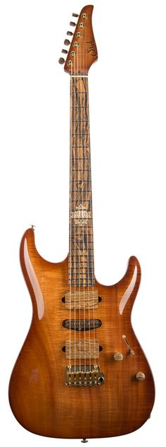 Suhr 2015 Collection figured koa