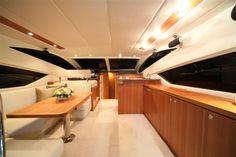 Mares 45 Catamaran interior main salon
