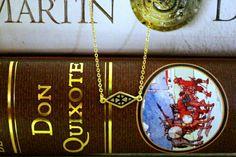 Rhombus necklace by paulsarzjewellery Don Quixote, Jewellery, Jewels, Schmuck, Jewelry Shop, Jewlery, Jewelery