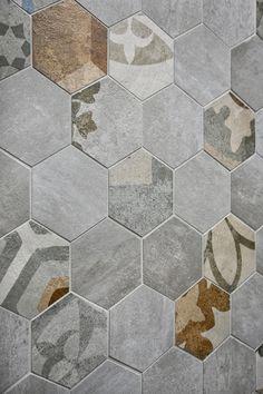 Piastrelle esagonali: ritorno alla tradizione - Cose di Casa - bathroom - tiles