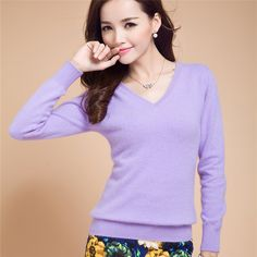 2015 Spring Autumn Cashmere Sweater Women Long Sleeve V-Neck Women Sweater Women Top Basic Fitness Hot Sale Candy Color Pure - http://www.styliate.me/http://www.styliate.com/products/2015-spring-autumn-cashmere-sweater-women-long-sleeve-v-neck-women-sweater-women-top-basic-fitness-hot-sale-candy-color-pure/