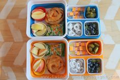 Bento Box Lunch - container from Walmart Bento Box Lunch For Kids, Kids Packed Lunch, Lunch To Go, Lunch Box, Lunch Ideas, Packing A Cooler, Lunch Cooler, Lunch Containers, School Lunch