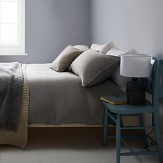 Buy John Lewis Croft Collection Bala Washed Linen Bedding Online at johnlewis.com