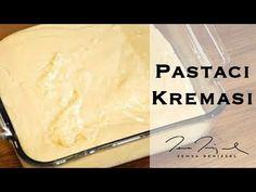 Pastacı Kreması | Şemsa Denizsel - YouTube Cream Patisserie, Pudding, Cheese, Make It Yourself, Desserts, Cupcake, Food, Youtube, Tailgate Desserts