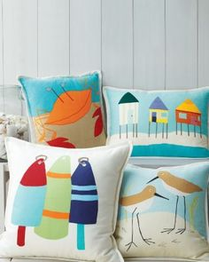 Hable Canvas Pillow Cover Collection #nautical