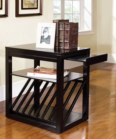 Loving this Black Arness Accent Table on #zulily! #zulilyfinds