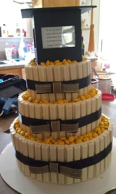 Kit Kat and M's Graduation Cake