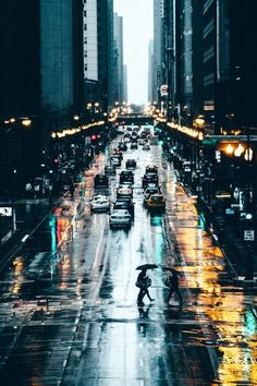 Rainy Streets of New York