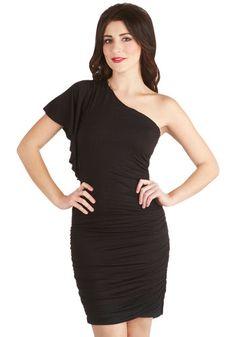 Tasting Room Dress in Noir, #ModCloth Little black dress ;)