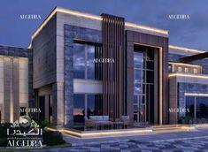 Modern house architecture styles dubai What's Art ? House Architecture Styles, Modern Architecture Design, Facade Design, Facade Architecture, Modern Villa Design, Modern Exterior House Designs, Exterior Design, Conception Villa, Dubai Houses