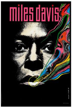 Miles Davis at BlackHawk Concert Poster 1963 (Nick had a sick Miles Davis record collection)