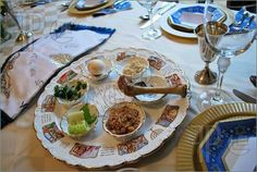 The Passover Seder Plate