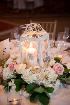 Featured Photographer: Justin DeMutiis Photography; wedding centerpieces ideas