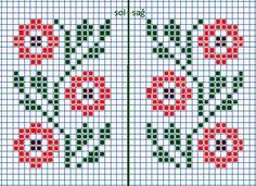 Kawaii Cross Stitch, Tiny Cross Stitch, Cross Stitch Heart, Cross Stitch Cards, Cross Stitch Borders, Cross Stitch Flowers, Cross Stitch Designs, Cross Stitching, Cross Stitch Embroidery