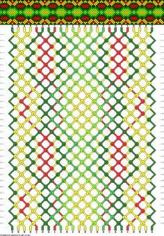 Muster # 63063, Streicher: 24 Zeilen: 32 Farben: 5