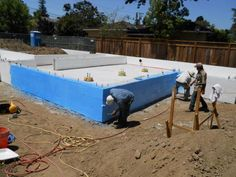 Moisture Management of the Foundation: Liquid Rubber and Stucco Coatings   Silicon Valley Zero Energy Home