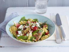 Basisches Rezept - Hirse-Feigen-Salat  Zutaten für 4 Personen