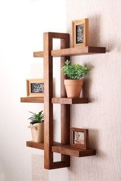 Make 16,000 Projects With Step By Step Plans ...even if you don't have a large workshop or expensive tools! Want to Know How Just Click On post Bathroom Wall Shelves, Home Decor Shelves, Wooden Wall Shelves, Floating Wall Shelves, Wall Shelves Design, Rustic Shelves, Wooden Walls, Wood Shelf, Shelf Wall