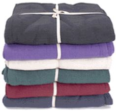 YogaAccessories' customers love this huge, Extra Large Cotton Yoga Blanket Without Tassels. This 100% chemical-free cotton blanket features a dense, tight weave that provides extra warmth, support, and stability.