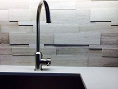 backsplash installation by Goodfellas stone