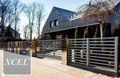 Minimalistyczne nowoczesne ogrodzenie aluminiowe Horizon Lite - zdjęcie od XCEL Ogrodzenia - Ogród - Styl Minimalistyczny - XCEL Ogrodzenia