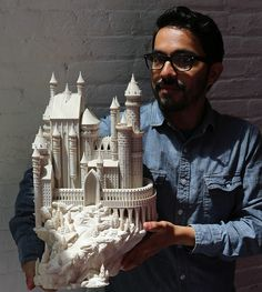 Bold Machines Designs and Releases an Amazing 3D Printed Castle Model http://3dprint.com/72517/bold-machines-castle-3d-print/