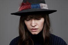 Black Wool, Wool Felt, Indiana, Hats, Color, Fashion, Colour, Moda, Wool Felting