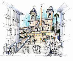 James Richards Sketchbook: Dad Loves His Work