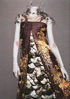 "hante: from Savage Beauty, ""Voss"" Alexander McQueen Spring/Summer 2001"