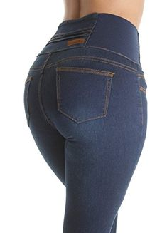 4e0b218c900 New Fashion2Love Plus Junior Size Colombian Design Butt Lifting High Waist  Skinny Jeans. womens