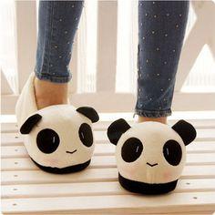 Adorable Stuffed Animal Panda Boat Shoes Slippers from Merlow Avenue. Saved to Epic Wishlist. Niedlicher Panda, Cute Panda, Panda Bears, Cartoon Panda, Cute Shoes, Me Too Shoes, Panda Mignon, Panda Lindo, Cute Slippers