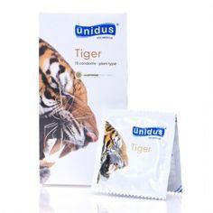 [유니더스] 호랑이(Tiger) 콘돔 1박스 (10p) www.joynjoy.com