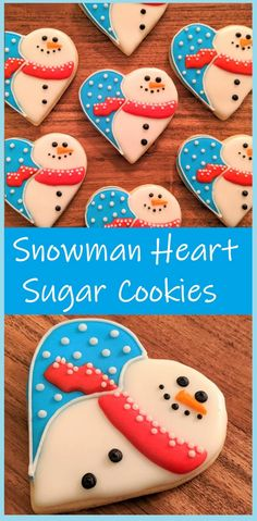 Easy Holiday Cookies, Christmas Sugar Cookies, Cookies For Kids, Fun Cookies, Decorated Cookies, Heart Cookies, Halloween Sugar Cookies, Macaroon Cookies, Summer Cookies