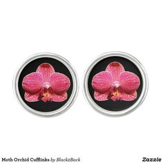Shop Moth Orchid Cufflinks created by Personalize it with photos & text or purchase as is!