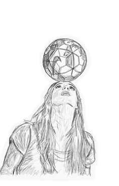 Trendy sport soccer football ideas - Source by limaradtke Football Girls, Girls Soccer, Football Art, Football Doodle, Toddler Soccer, Soccer Pro, Soccer Players, Funny Soccer, Soccer Coaching