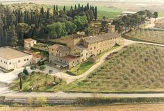 """L'Azienda Agricola Pucciarella si sviluppa per oltre 282 ettari nei Comuni di Magione e Corciano. I vigneti, per buona parte iscritti all'Albo delle zone di produzione D.O.C. """"Colli del Trasimeno"""", si estendono per 58 ettari sui terreni collinari più vocati e meglio esposti. A oliveti specializzati realizzati sul finire degli anni '80 sono dedicati 21 ettari. Il resto è occupato da boschi nelle zone collinari più impervie e, in pianura, da seminativi irrigui, alimentati dall'acqua."""
