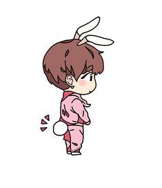 Чонгук #fanart #Roni_Pool #bts #rm #suga #jin #hoseok #jimin #_v #jungkook #army Taehyung Fanart, Vkook Fanart, Jungkook Fanart, Gif Kawaii, Fire Bts, Jikook, Cartoon Fan, Kookie Bts, Kpop Drawings