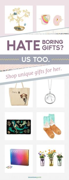 Unique gifts for her at every budget. Shop original designs by independent makers.