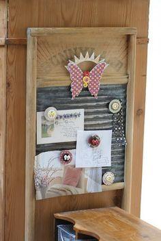 Betsy Sammarco refurbished washboard!