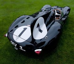 Jaguar D-Type triumphed once again at LeMans in 1957, this time the winners were Scottish team Ecurie Ecosse.