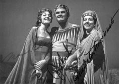 Maria Callas, John Vickers, and Giulietta Simionato in Cherubini's Medea