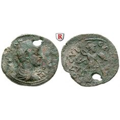 Römische Provinzialprägungen, Kilikien, Seleukeia am Kalykadnos, Gallienus, Bronze, ss: Kilikien, Seleukeia am Kalykadnos. Bronze 28… #coins