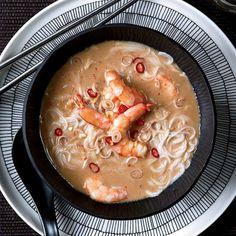 Thai Shrimp and Coconut Soup with Lemongrass