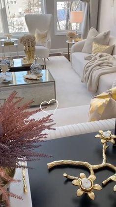Glam Living Room, Decor Home Living Room, Formal Living Rooms, Home Decor Furniture, Cozy Living Rooms, Living Room Modern, Living Room On A Budget, Room Design Bedroom, Home Room Design